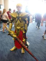 Goldcoast Supanova 2012 - Gilgamesh by MrOrangeCreamsicles