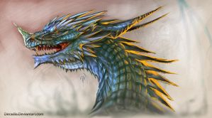 Dragon Head by Decadia