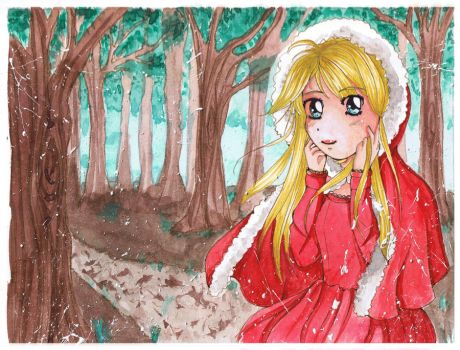Little red riding hood by sandrusky13