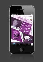 Iphone app portfolio remi pene 2012 by shark-graphic