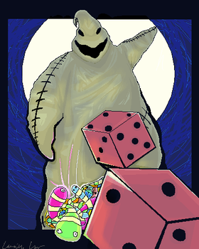 Oogie Boogie by chillywilly101