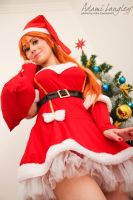 Asuka Cosplay - Merry Christmas by adami-langley