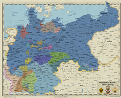 German Empire with Northern Bohemia by Arminius1871
