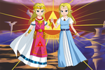 A Link to the Past: The Princess and the Maiden by Icy-Snowflakes