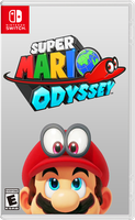 Super Mario Odyssey - Fan Cover Art by Rayman2000