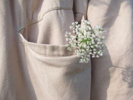 My flower in His pocket. by Sophie-shoots