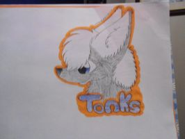 Con badge for Tonks by Lockian