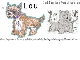 Lou New Sheet  by LOST09