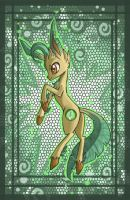 Leafeon pony by raptor007