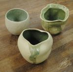 Copper lycan pots by Jade-Kitten