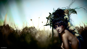 Girl nature wallpaper by darkludovic