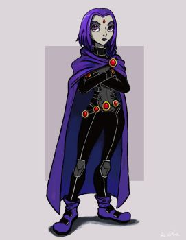 Raven by TheLivingShadow
