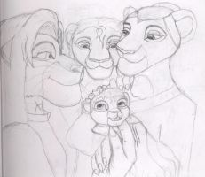 Old: Lion king family by KasumiTagai