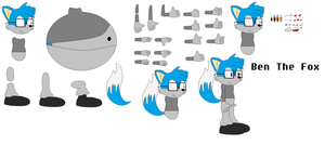 Character Builder- Ben the Fox by TheFoxPrince11