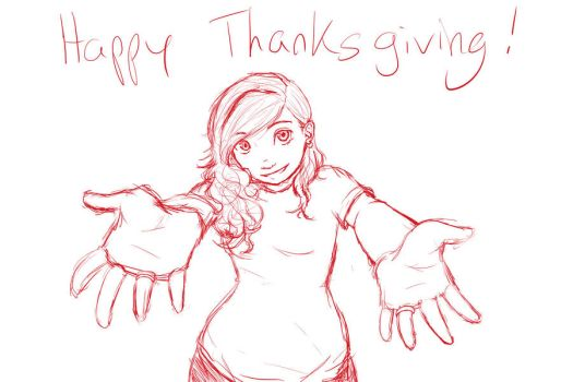 Happy Thanksgiving by FullMetalSoul13