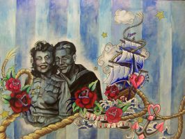 Nautical Sweet Hearts by Pistol-Whipped-Sar