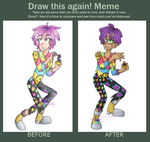 Before and After - Improvement Meme by PuppyLuver