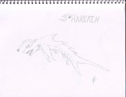Sharkain by Dragonsmana