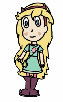 Star Butterfly by Stephers101