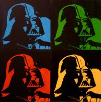 Darth Vader Pop Art by AlaynaPhoto