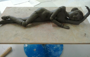WIP: Sculpture for BTEC Art by waffle-faceXD