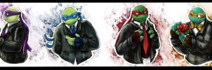 Four [TMNT] by LeonS-7