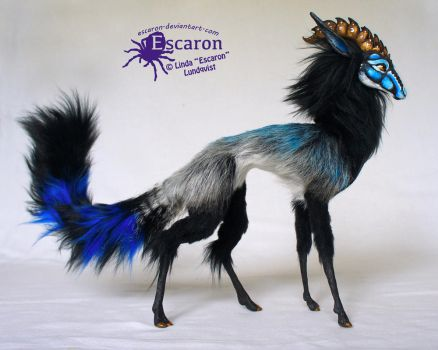 Color and Aura - Art Doll by Escaron