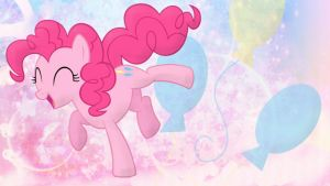 Pinkie Pie Party Wallpaper by pegasister1000