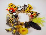 DANGER DANGER High Voltage Toy Box Charm Bracelet by PoniesOfDOOOM