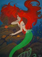 Ariel The Little Mermaid by mexicanlove