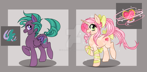 .:MLP: Set 1 (One left!):. by Galiou