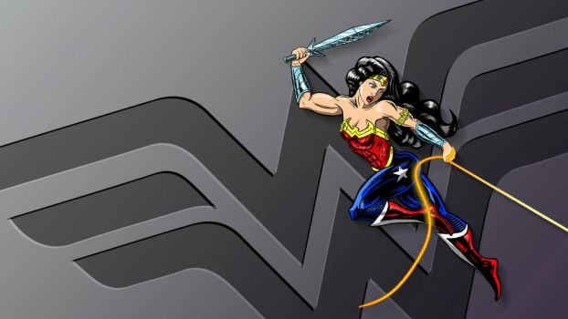 Wonder Woman wallpaper by MarioUComics
