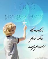 1,000 PAGEVIEWS by lilbrokenangel