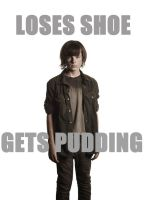 Walking Dead - Carl Gets Pudding by codebreaker2001