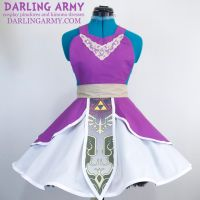 Legend of Zelda Twilight Princess Cosplay Pinafore by DarlingArmy