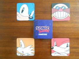 Classic Sonic Characters Coasters by BoomSonic514