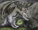 Distorted Creature by Sally-Ce