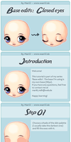 Tutorial - Closed eyes by mariiiis-dolls