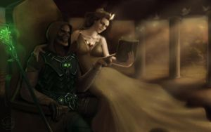 Might and Magic Heroes 6: Sandro and Alma by Melissa-light