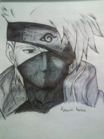 Kakashi Hatake by nature by natureandkakashi