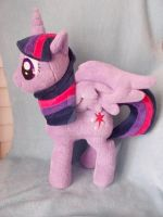 My little pony Alicorn Twilight Sparkle by CINNAMON-STITCH