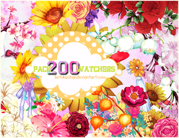 Pack PNG 200 Watchers by BeTuKaChaN