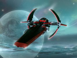Sith Infiltrator by DevantSin