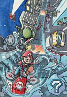 Mario Kart 8 - Toad's Turnpike by Twinkie5000