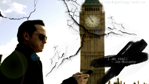 Moriarty is real by scaredofbutterflies