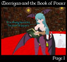 Morrigan and the Book of Power 1 (Commission) by Morphy-McMorpherson