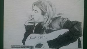 Kurt Cobain by ClaudiaMendozAn