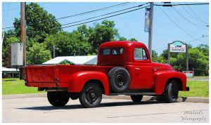A Red International Truck by TheMan268