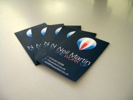 The Work Of - Business Cards by anagoge
