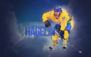 Carl Hagelin - New York Rangers - Team Sweden by motzaburger